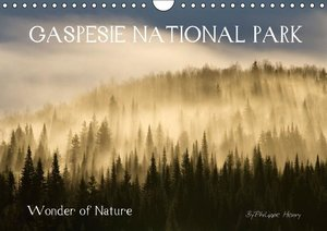 GASPESIE NATIONAL PARK / UK-Version (Wall Calendar 2015 DIN A4 L