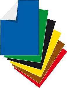 Stylex - Buntpapierheft, A 4, 12 Blatt, ungummiert