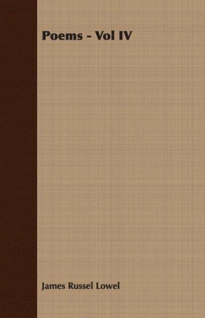 Poems - Vol IV - zum Schließen ins Bild klicken