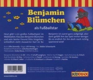 Benjamin Blümchen 019 als Fußballstar. CD