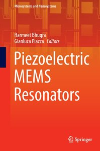 Piezoelectric MEMS Resonators