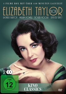 Elisabeth Taylor-Box (4 Filme)