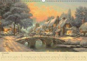 Thomas Kinkade: Brücken (Wandkalender 2014 DIN A3 quer)