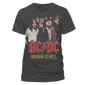 Vintage Highway To Hell (T-Shirt,Schwarz,XL)