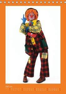 Lach mal wieder - Clowns (Tischkalender 2016 DIN A5 hoch)