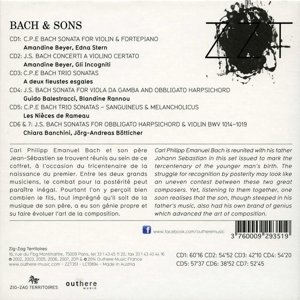 Werke von Johann Sebastian Bach & seinen Söhnen