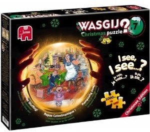 Jumbo Spiele 13226 - Wasgij Christmas 7: Katastrophaler Weihnach