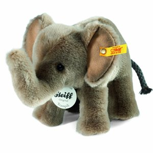 Steiff 064487 - Trampili Elefant 18 stehend, grau