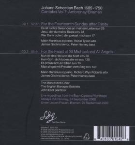 Kantaten 7: BWV 25/78/17/50/130/19/149