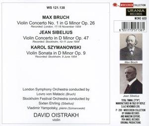 David Oistrach spielt