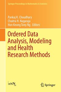 Ordered Data Analysis, Modeling and Health Research Methods