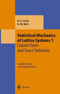 Statistical Mechanics of Lattice Systems 1
