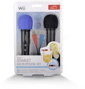 STARLET Microphone Set, black