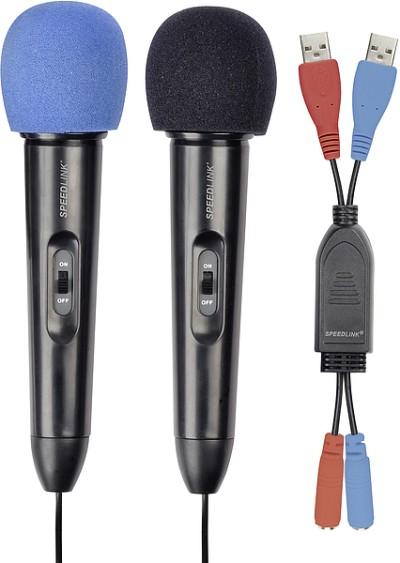 STARLET Microphone Set, black - zum Schließen ins Bild klicken