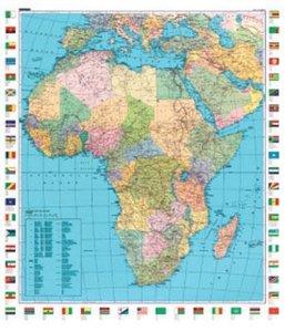 KuF Afrika 1 : 12 000 000 Plano-Karte