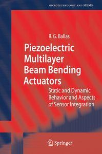 Piezoelectric Multilayer Beam Bending Actuators