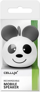 CELLUX Rechargeable Mobile Speaker, Panda