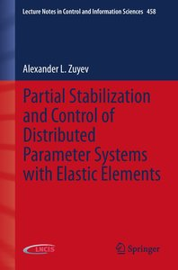 Partial Stabilization and Control of Distributed Parameter Syste