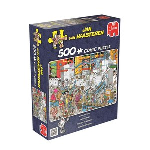 Jan van Haasteren - Süßigkeitenfabrik - 500 Teile