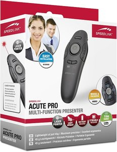 Speedlink ACUTE PRO Multi-Function Presenter, schwarz