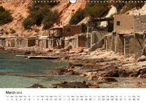 Beautiful Ibiza / UK-Version (Wall Calendar 2015 DIN A3 Landscap