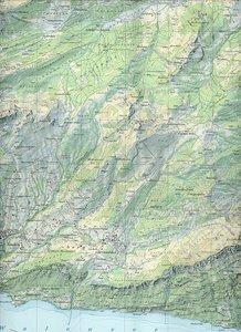 Swisstopo 1 : 25 000 Toggenburg Walensee