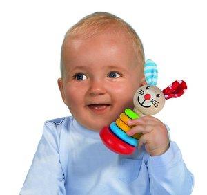 Eichhorn 100017012 - Heros Baby: Rassel, Motiv: Hase
