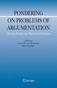 Pondering on Problems of Argumentation
