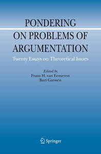 Pondering on Problems of Argumentation