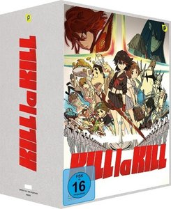 Kill la Kill - Box 1 + Sammelschuber [Limited Edition]
