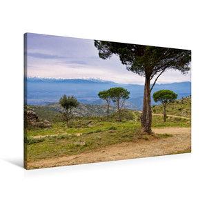 Premium Textil-Leinwand 90 cm x 60 cm quer Pic du Canigou