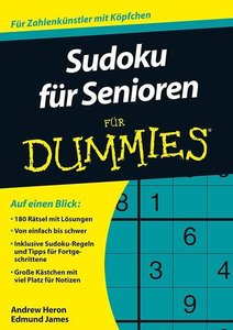 Sudoku für Senioren für Dummies