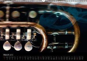 Musica Furiosa (Wall Calendar 2015 DIN A3 Landscape)