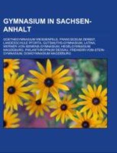 Gymnasium in Sachsen-Anhalt