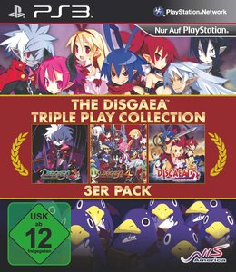THE DISGAEA - Triple Play Collection 3er Pack (Disgaea 2: A Brit