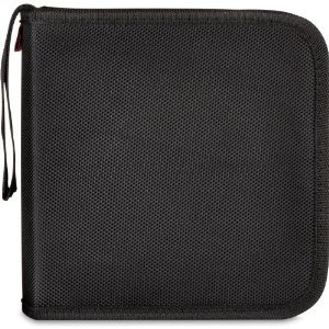 PLICO Wallet SL-6024-BK für 40 CDs/DVDs/BR Discs schwarz
