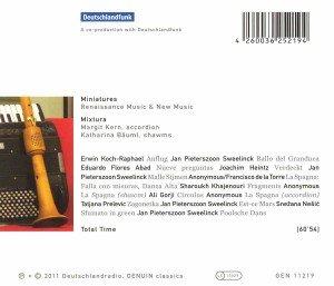 Miniaturen für Akkordeon und Schalmei