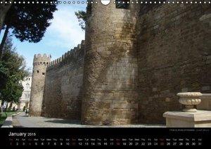 Monuments of Azerbaijan 2015 (Wall Calendar 2015 DIN A3 Landscap
