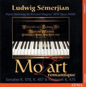 Mozart: Piano sonatas Vol.5