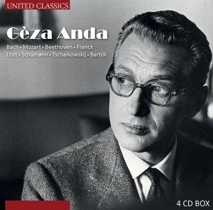 Geza Anda-Bach,Mozart,Beethoven/+