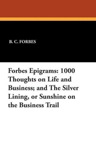 Forbes Epigrams