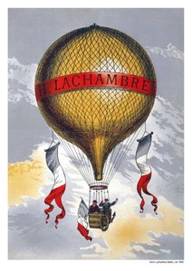 Ballonfahren Posterbuch (PosterbuchDIN A3 hoch)