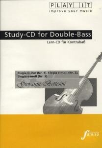 Study-CD for Double-Bass - Elegia 1-3
