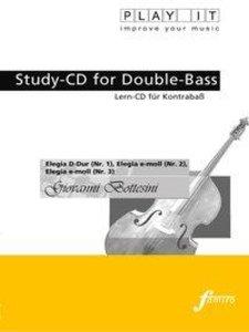 Study-CD for Double-Bass - Elegia 1-3
