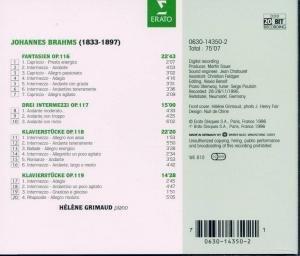 Klavierstücke op.116/11
