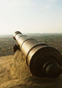 Donnerhall aus alten Zeiten: Kanonen (Posterbuch DIN A2 hoch)