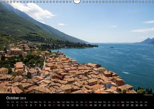 Lake Garda / UK-Version (Wall Calendar 2015 DIN A3 Landscape)