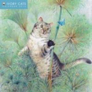 Ivory Cats Mini Wall Calendar 2016 (Art Calendar)