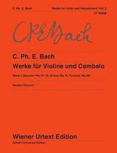 Werke für Violine und obligates Cembalo 2
