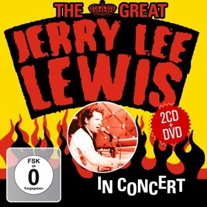 The Great Jerry Lee Lewis In Concert.2CD+DVD